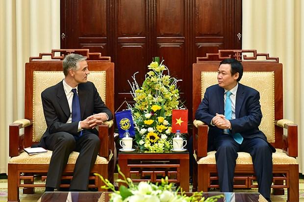 越南政府副总理王廷惠会见国际货币基金组织第四条款磋商代表团 hinh anh 2