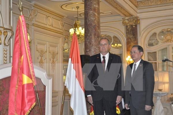 越南驻摩纳哥王国荣誉领事馆正式开馆 hinh anh 1