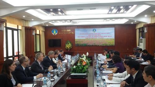 越美促进农林水产领域的合作与贸易往来 hinh anh 1