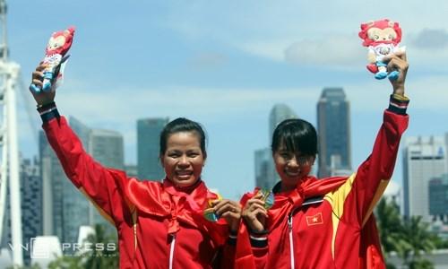 2016年里约奥运亚大区划船资格赛:越南划船队取得佳绩 hinh anh 1