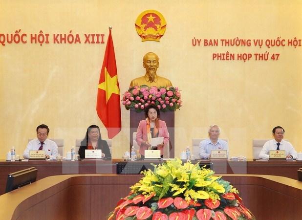 越南第十三届国会常务委员会第47次会议召开 hinh anh 1
