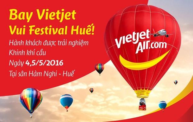 越捷航空公司给乘客免费体验热气球飞行之旅的机会 hinh anh 1