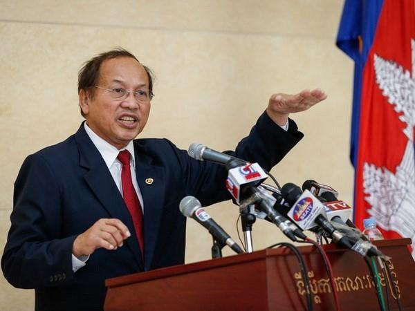 柬埔寨否认与中国达成东海问题上的共识 hinh anh 1