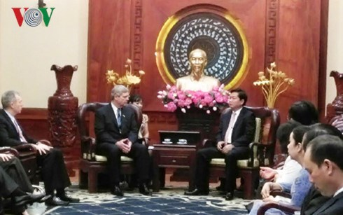 胡志明市与美国促进农业领域的合作 hinh anh 1