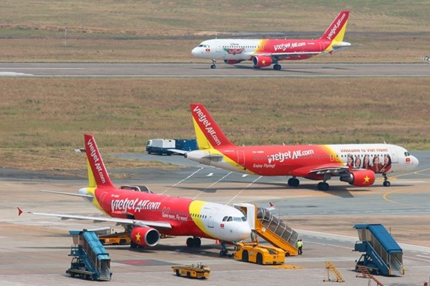 4·30和5·1假期:越捷航空公司增加航班数量 hinh anh 1
