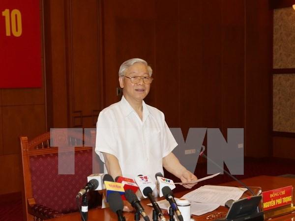 越共中央反腐败指导委员会召开第十次会议 hinh anh 1