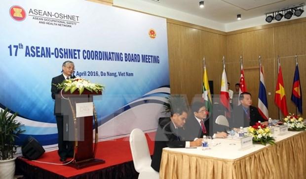 第三次东盟劳动安全卫生论坛在岘港市举行 hinh anh 1