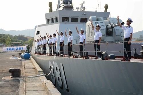 越南军舰首次参加国际军演 hinh anh 1