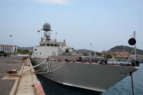 越南军舰首次参加国际军演 hinh anh 3
