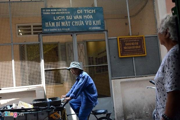 西贡别动队的武器地窖 hinh anh 1