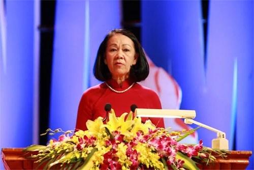 国际劳动节130周年纪念典礼在河内举行 hinh anh 1