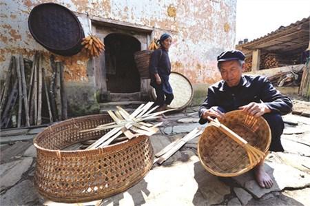 哈尼族的传统行业 hinh anh 1