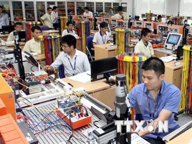 2016年前3个月越南加工和制造业销售指数增长36.5% hinh anh 1
