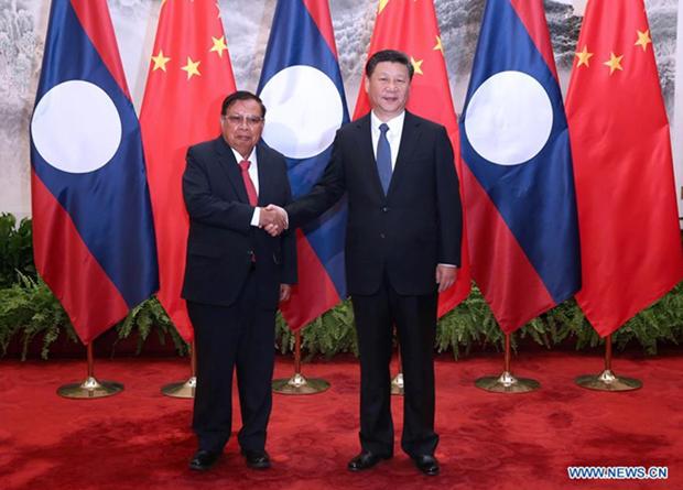 中国和老挝加强双边关系 hinh anh 1