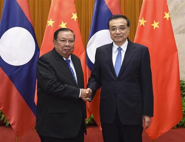 中国与老挝促进全面战略伙伴关系 hinh anh 1