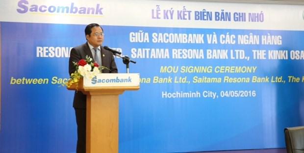 越南西贡商信银行与日本三家银行签署拓展客户群的谅解备忘录 hinh anh 2
