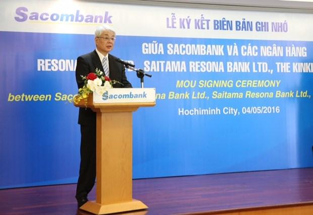 越南西贡商信银行与日本三家银行签署拓展客户群的谅解备忘录 hinh anh 3