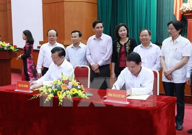 越南加强财政领域信息宣传工作 hinh anh 1