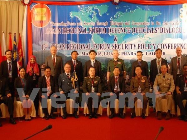 东盟地区论坛国防官员对话会在老挝开幕 hinh anh 1