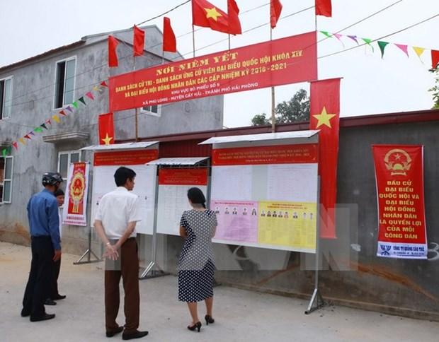 越南国家选举委员会批准广南省49地提前进行选举投票 hinh anh 1
