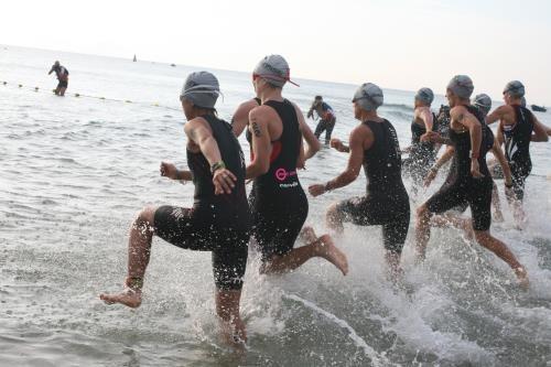 越南2016年铁人三项比赛在岘港市举行 共1150名运动员参加 hinh anh 1