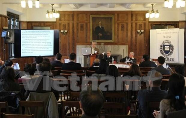 有关东海的研讨会在美国耶鲁大学举行 hinh anh 1