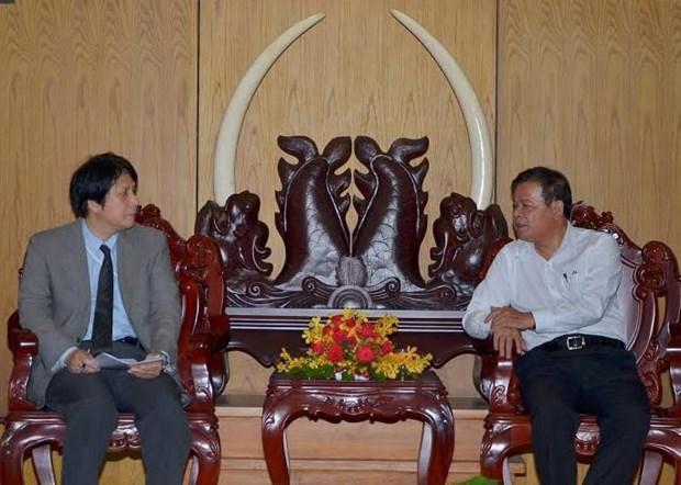 日本企业代表团赴西宁省了解投资环境 hinh anh 1