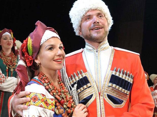 俄罗斯最悠久合唱团来越演出 hinh anh 1