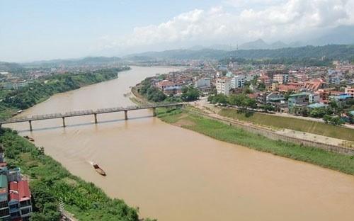 越南政府总理尚未审议通过红河上泛亚水路项目 hinh anh 1
