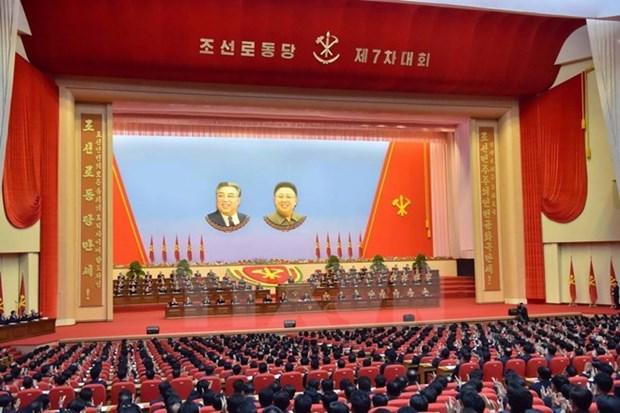越南致电祝贺朝鲜劳动党第七次全国代表大会 hinh anh 1