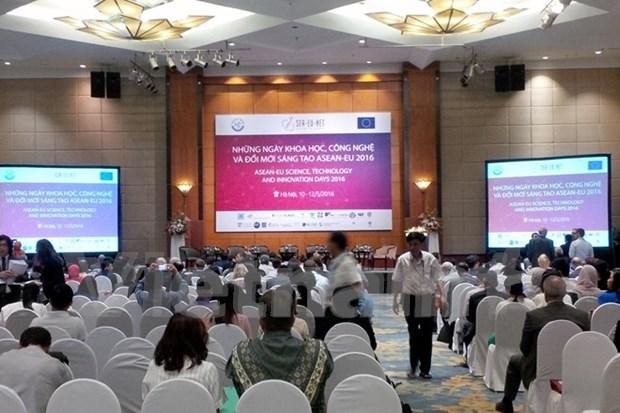 加强东盟与欧盟科技创新合作 hinh anh 1
