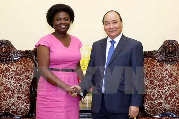 越南政府总理阮春福会见世行负责东亚与太平洋地区事务副行长 hinh anh 1