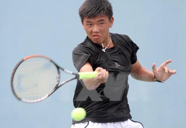 印度男网F3未来赛:越南网球名将李黄南挺进1/4决赛 hinh anh 1