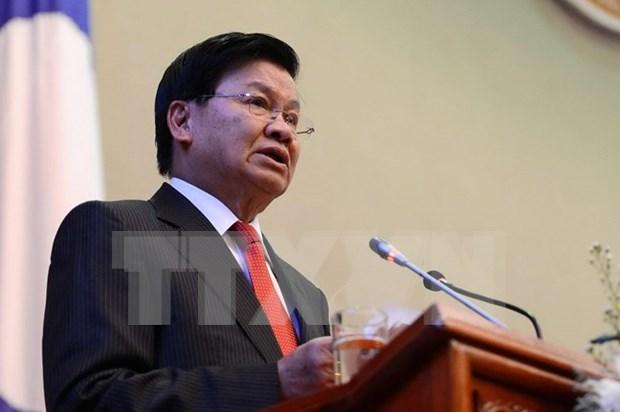 老挝政府总理通伦·西苏里即将对越南进行正式友好访问 hinh anh 1