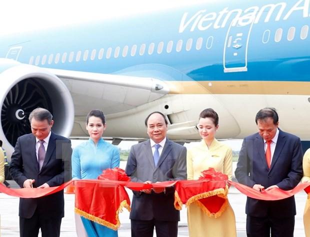 越南海防市吉碑国际航空港正式落成 hinh anh 1