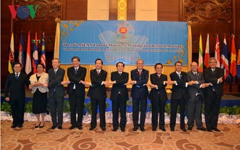 第24届东盟劳工部长级会议在老挝首都万象举行 hinh anh 1