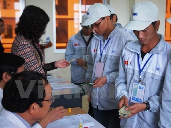 2016年前四个月越南劳务输出人数逾3.36万人 hinh anh 1