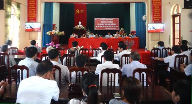 国会和各级人民议会换届选举:富寿省山区选民喜迎选举日 hinh anh 1