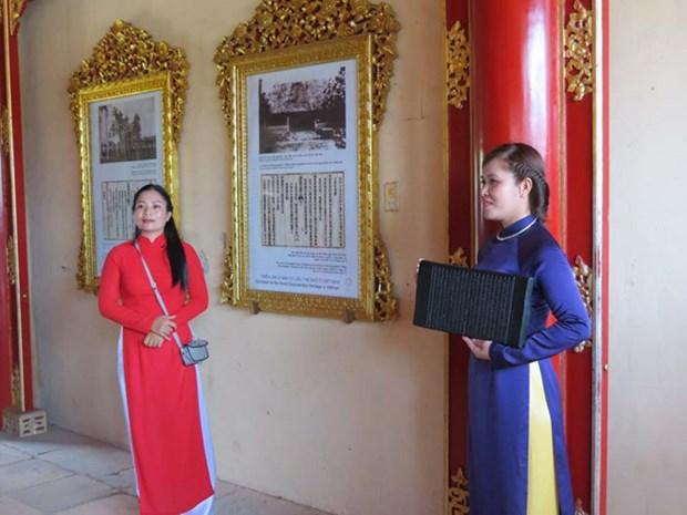 """""""在越南的世界文献遗产""""展览会亮相顺化大内 hinh anh 1"""