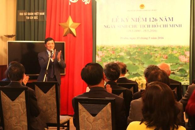 旅居海外越南侨胞举行胡志明主席诞辰纪念日活动 hinh anh 1
