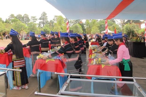 柬埔寨牺牲的越南专家和志愿军烈士遗交接暨悼念仪式在嘉莱省举行 hinh anh 1