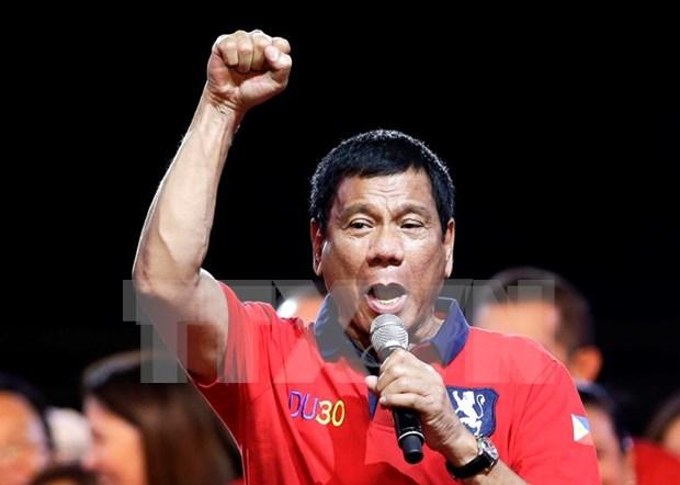 杜特尔特总统:菲律宾将恢复死刑 hinh anh 1