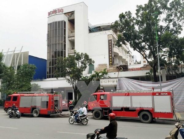 韩国向越南捐赠9辆二手消防车 hinh anh 1