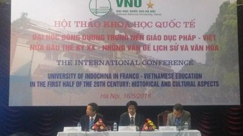 印度支那大学为越南现代教育模式奠定基础 hinh anh 1