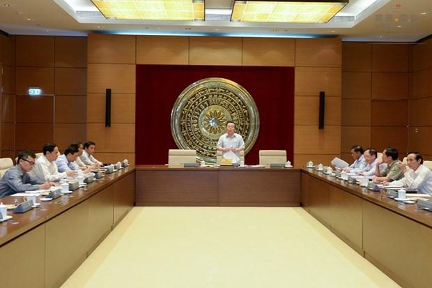 越南国家选举委员会负责人事事务和选举纠纷解决小组会议在河内召开 hinh anh 1