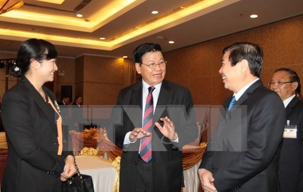 老挝政府总理通伦·西苏里圆满结束对越南的正式友好访问 hinh anh 1
