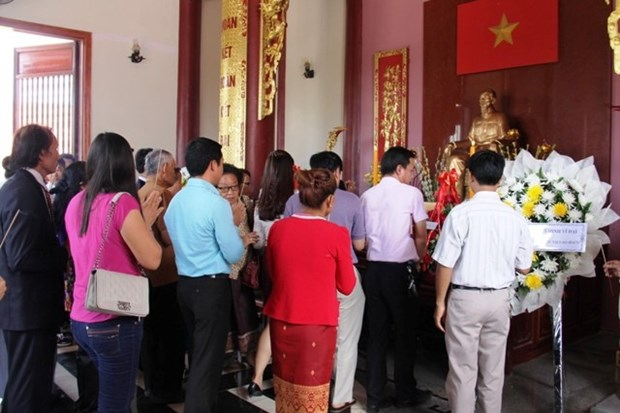 旅居国外越南人纷纷举行胡志明主席诞辰126周年纪念活动 hinh anh 1