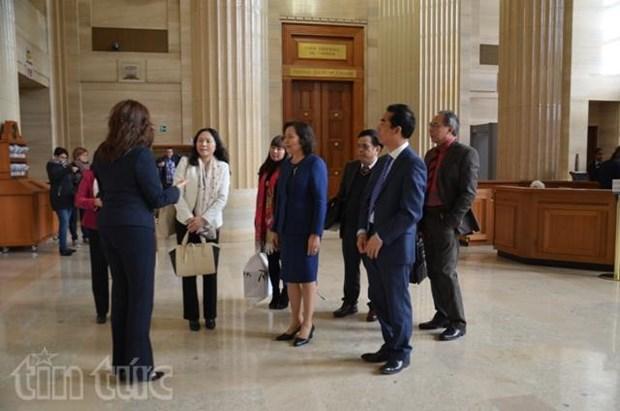越南与加拿大加强司法改革合作 hinh anh 1