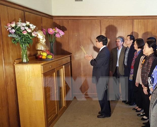 旅居国外越南人纷纷举行胡志明主席诞辰126周年纪念活动 hinh anh 2