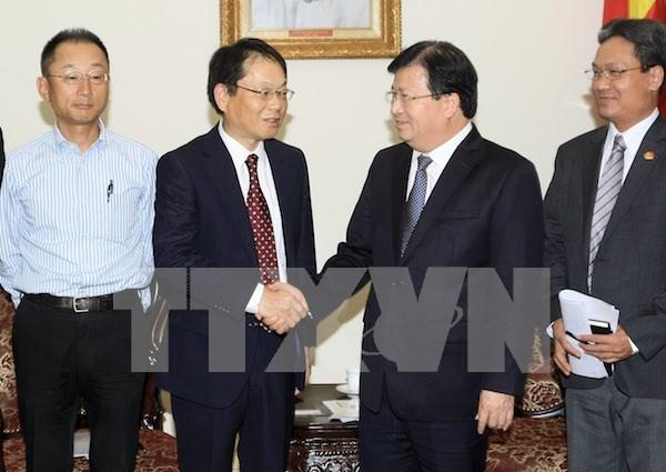 政府副总理郑廷勇:越南始终将日本视为首要的贸易投资合作伙伴 hinh anh 1